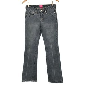 The Limited Jeans Drew Vintage Flare Low Rise Gray